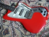 Vintage 1960's Coral Hornet Electric Guitar (Red)