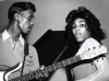 Tina Turner with a Danelectro Longhorn